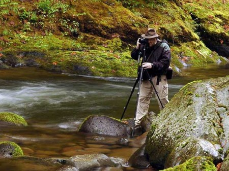 Shooting my worries away on the Salmon River (photo by Greg Lief)