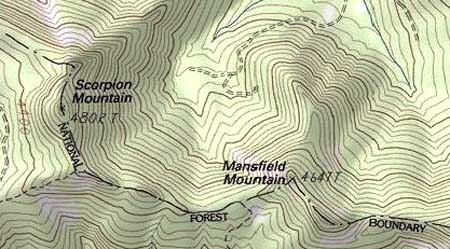 Scorpion Mountain, in the Bull of the Woods country south of Mount Hood, might just have been inspired by the real thing, after all..!