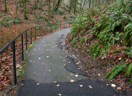 Unfortunately, this ugly, occasionally dangerous path remains a sore thumb…