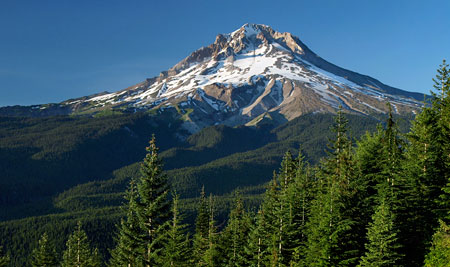 Mount Hood from the Mirror Lake Trail