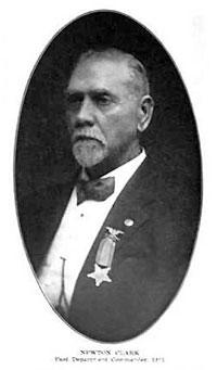 The real Newton Clark (1837-1918)