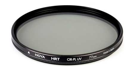 Circular polarizer filter