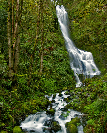 The new trail would take hikers past the base of beautiful Coopey Falls, located on public land, but currently only reachable by crossing private property