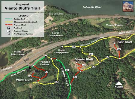Trail map of the proposal