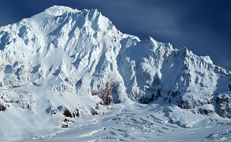 Cover: Sandy Headwall and Glacier from McGee Ridge