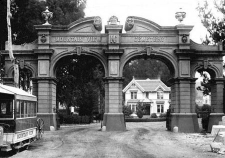 Mountain View Cemetery in Oakland, resting place of the Angwins (Wikimedia)