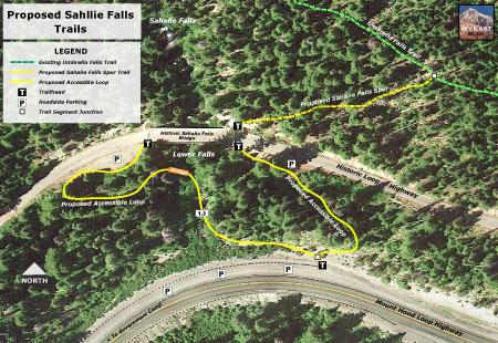 Sahalie Falls trail proposals