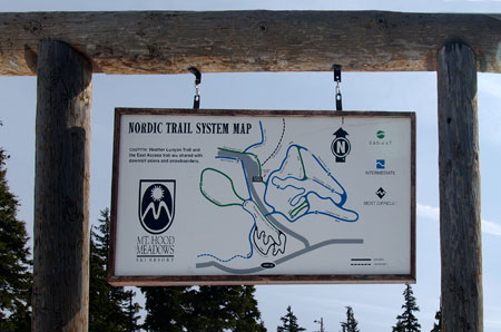 The Meadows for-profit Nordic trail system has struggled to compete with the nearby Teacup Lake Nordic Club's larger and more affordable system