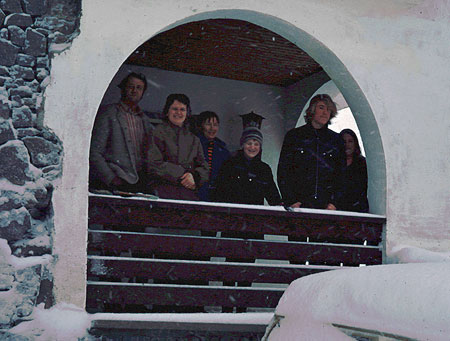 The author (center, at the tender age of 11) on a memorable 1973 ski vacation near Innsbruck, Austria with my family