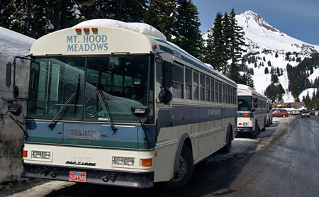 For too long, a very limited supply of shuttles and private ski buses at the Mount Hood resorts have been the sole transit option along the loop highway