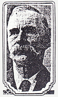 This is the only known photo of George Shepperd. It appeared in the Oregon Journal in 1915.