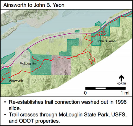 Proposed Ainsworth Gap Trail