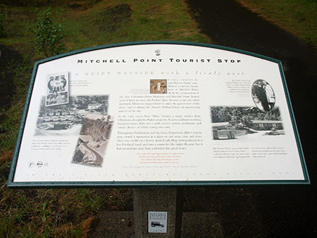 An interpretive sign like this could tell the story of Shepperd's Dell