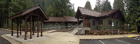 The new Zigzag Ranger Station