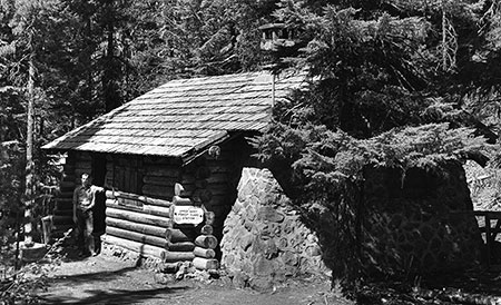 Upper Sandy Guard Station in better days (1930s)