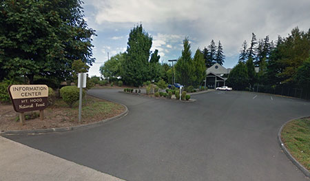 "The ""new"" (1990s) Mount Hood headquarters hides in an industrial park on the outskirts of Sandy."