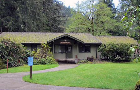 This small building served as the Zigzag Ranger Station until 2013