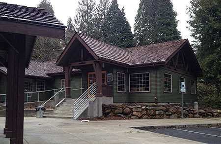 Visitor Center at the new Zigzag Ranger Station