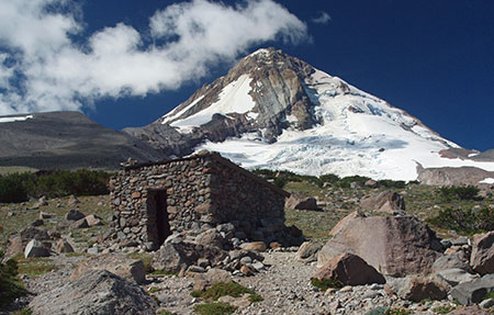 The stone Cooper Spur shelter along the Timberline Trail is among the historic gems that depend on a better interpretation of the Wilderness Act to survive for future generations