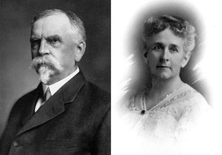 Frank and Anna Warren in the early 1900s
