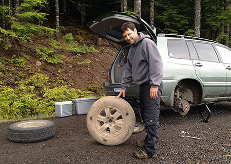 Always travel with an automotive repair expert!