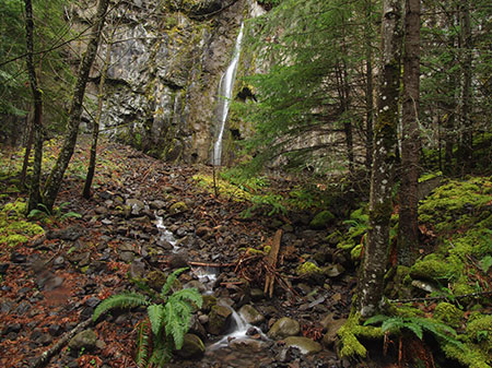 Warren Falls lives! Well, occasionally… during the wettest winter storms