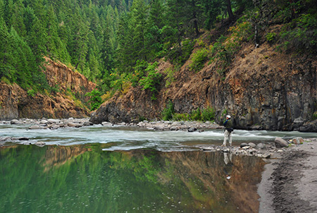 Hood River Confluence at Punchbowl Park (photo by Peter Marbach)
