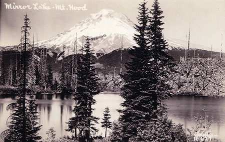 Mirror Lake in the late 1920s