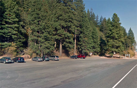 A rare quiet day at the huge Dog Mountain trailhead parking area (The Oregonian)
